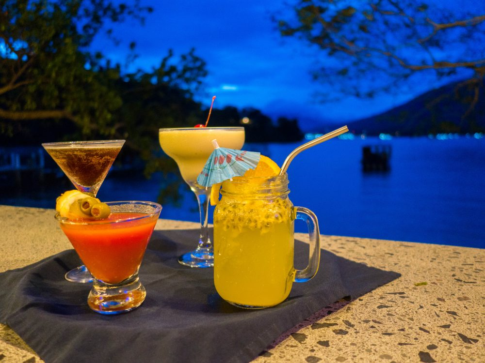 NAD Diving Resort Lembeh Bar Cocktails
